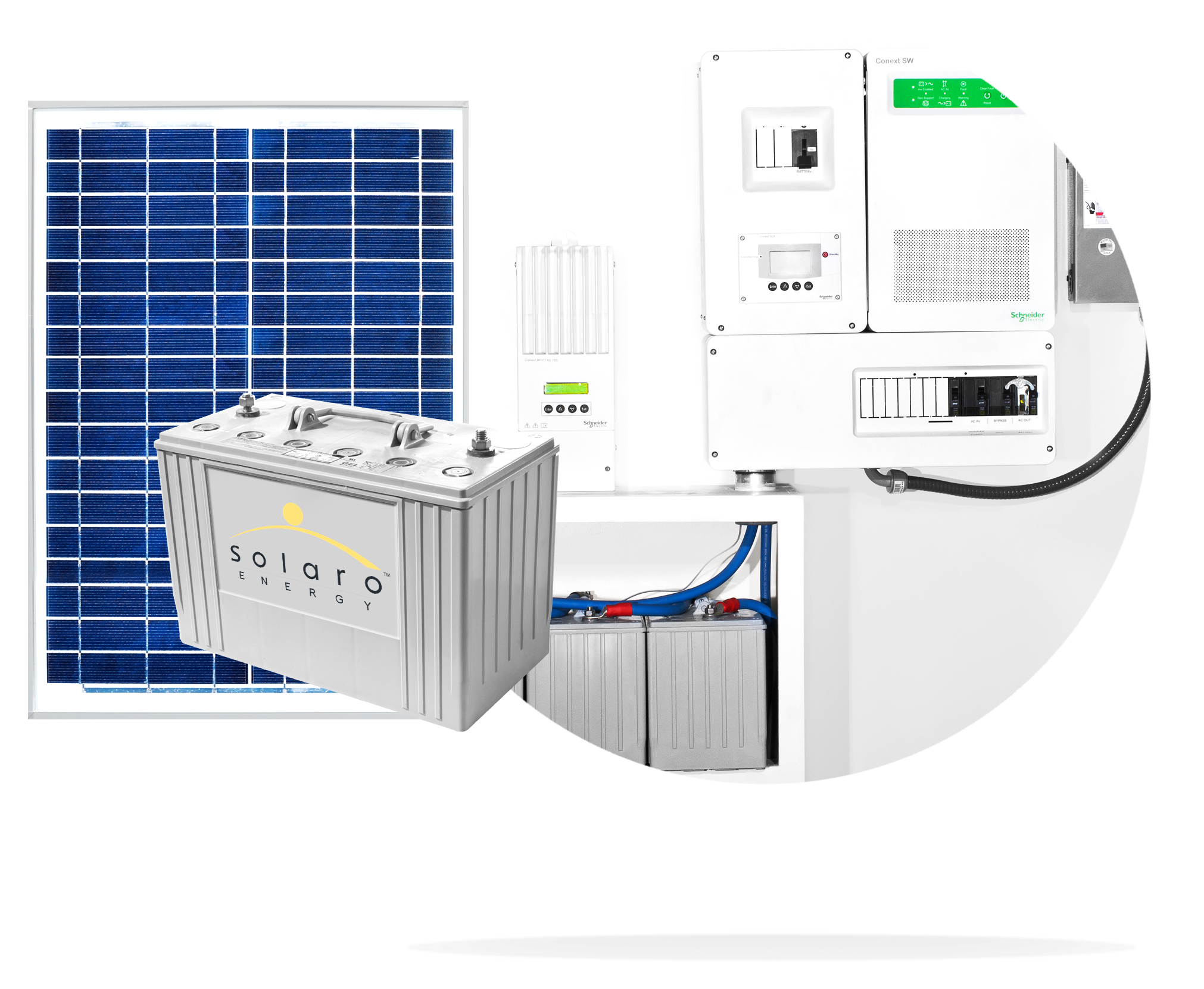 The Solaro Energy Off Grid Solar System is the perfect way to offset or completely get rid of your energy bill!